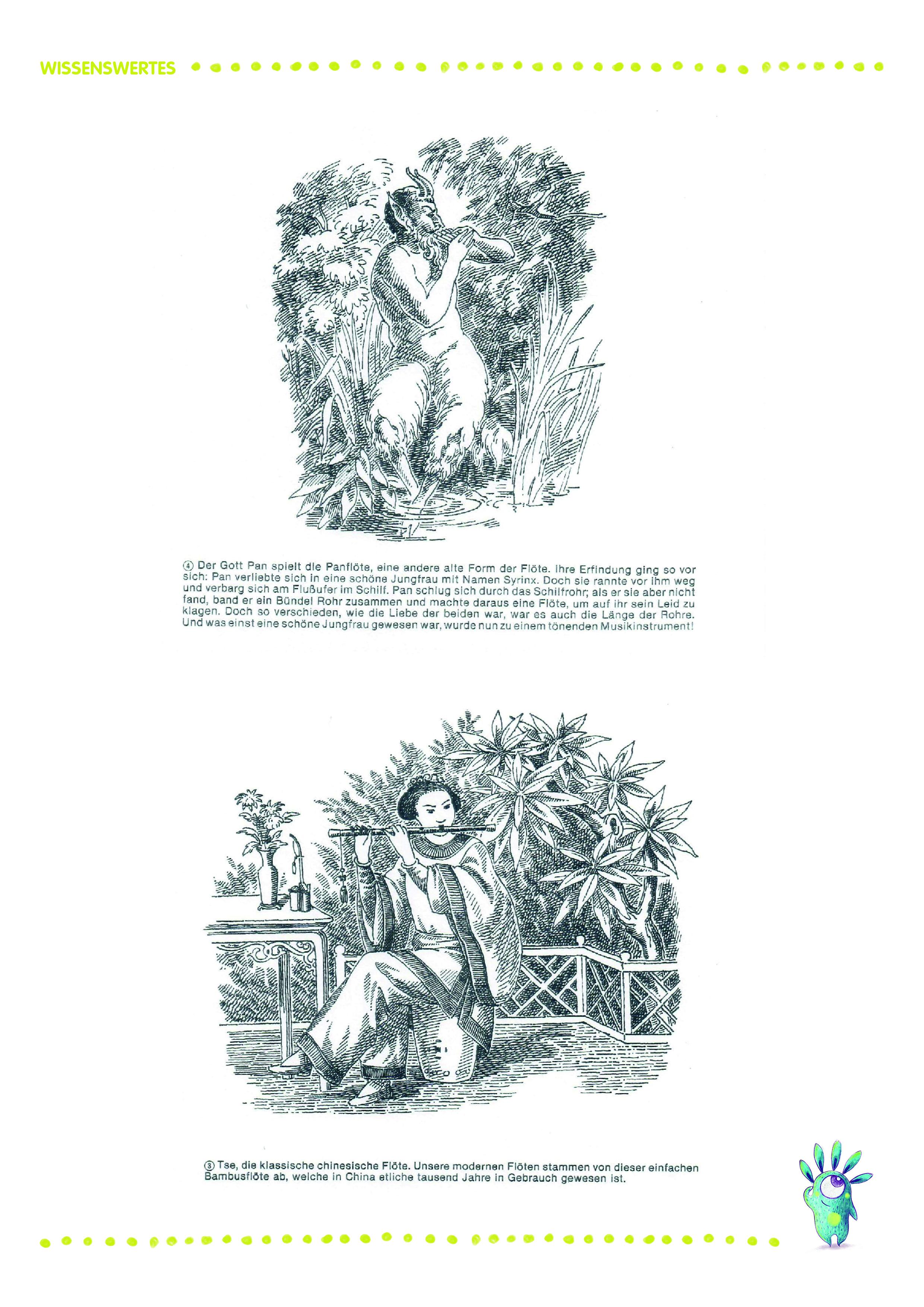drei chinesen mit dem kontrab ausmalbild  kinder ausmalbilder